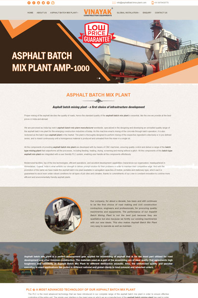 Asphalt Batch Mix-Plant