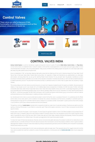 Control Valves India