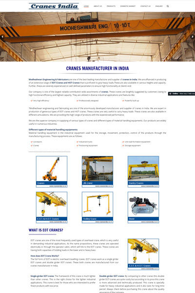 Cranes India