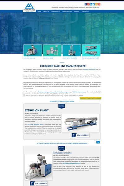 Extrusion Machineries