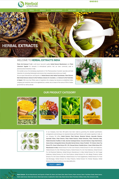 Herbal Extracts India