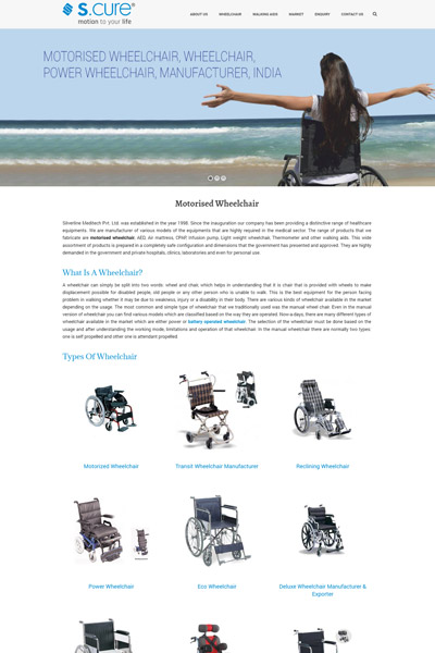 Company Portfolio | SEO and Website Design | Medical
