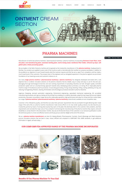 Pharma Machines