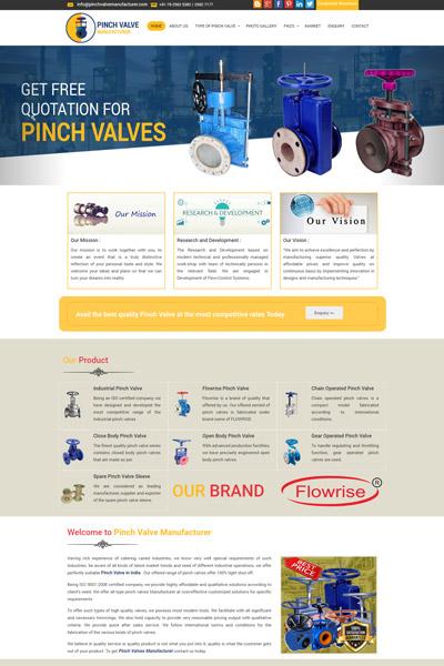 Pinch Valves Manufacturer