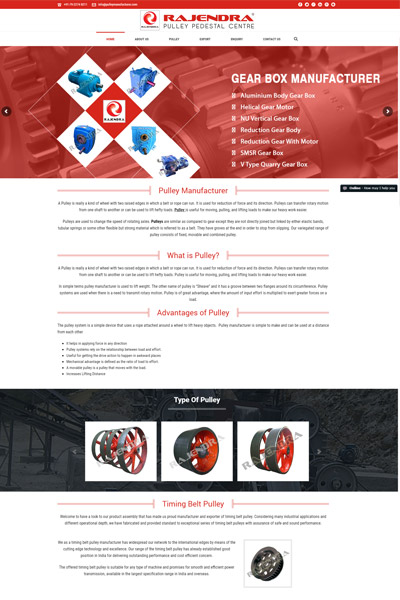 Pulley Manufacturer