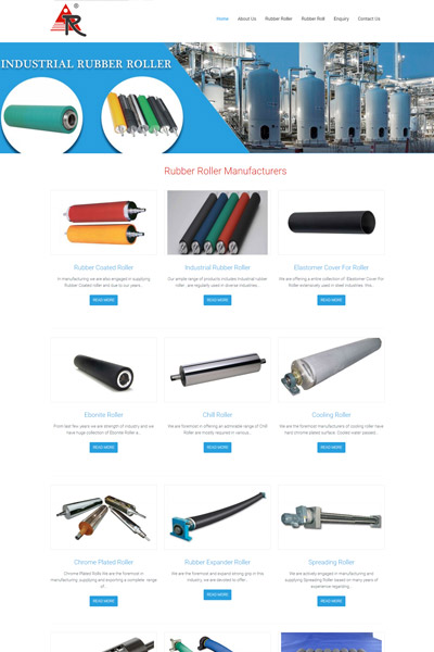 Rubber Roller Manufacturers