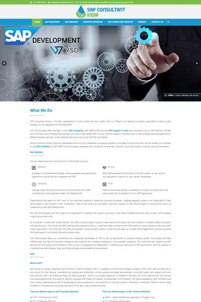 SAP Consultant India
