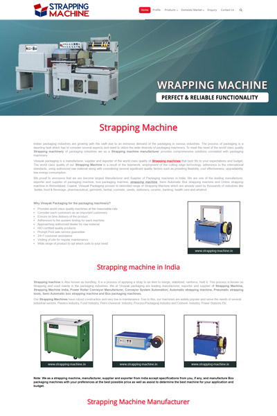 Strapping Machine