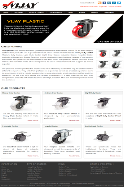 Casters Manufacturers