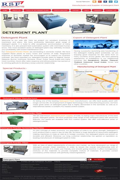 Detergent Plant