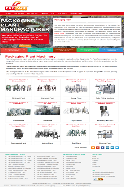Packaging Plant