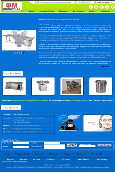 Pharmaceuticals Equipments
